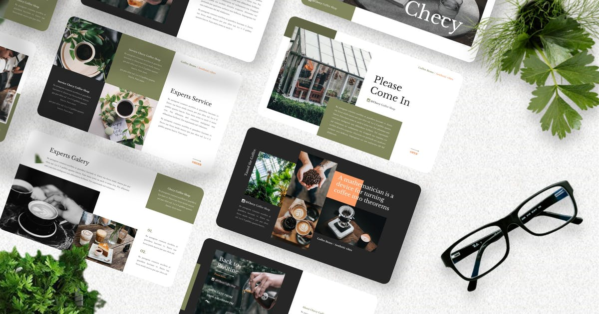 Download Checy- Creative Keynote Template by Yumnacreative