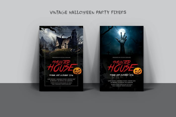 halloween flyers by graphix shiv on envato elements