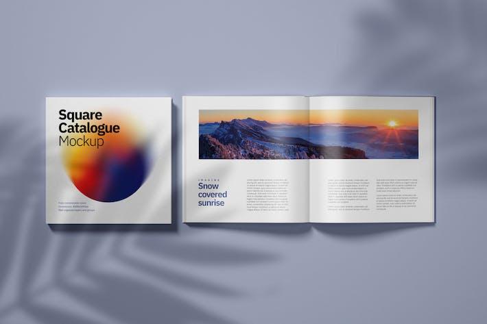 Thumbnail for Square Catalogue Mockup