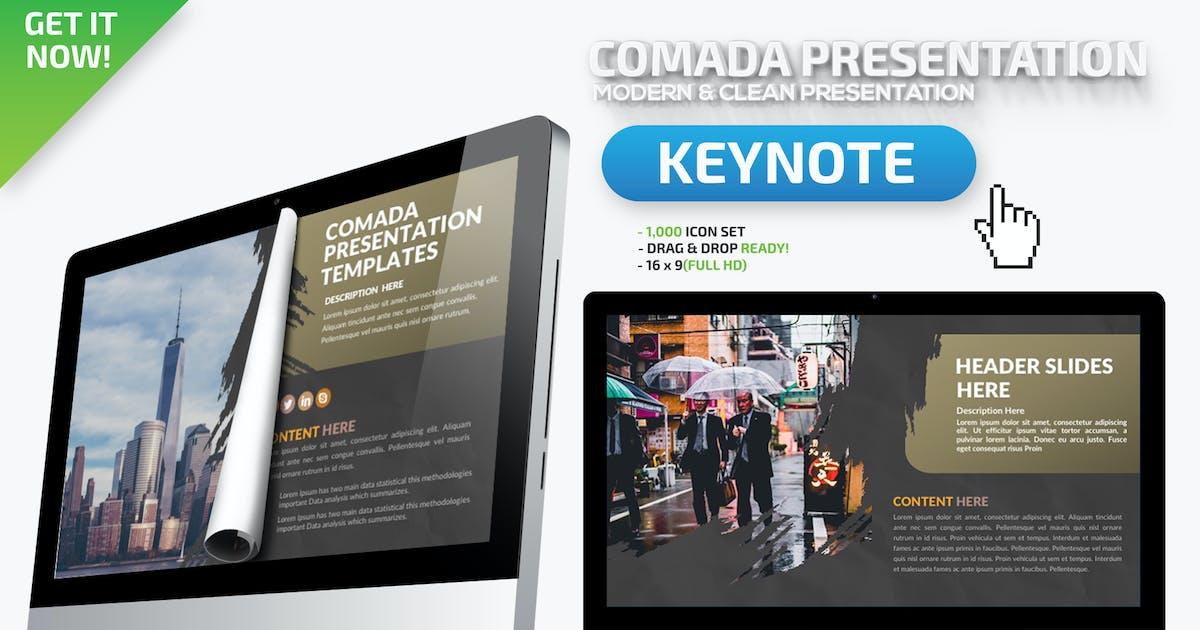 Download Comada Keynote Presentation by mamanamsai