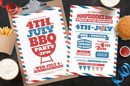 4th July Flyer / Poster / Menu