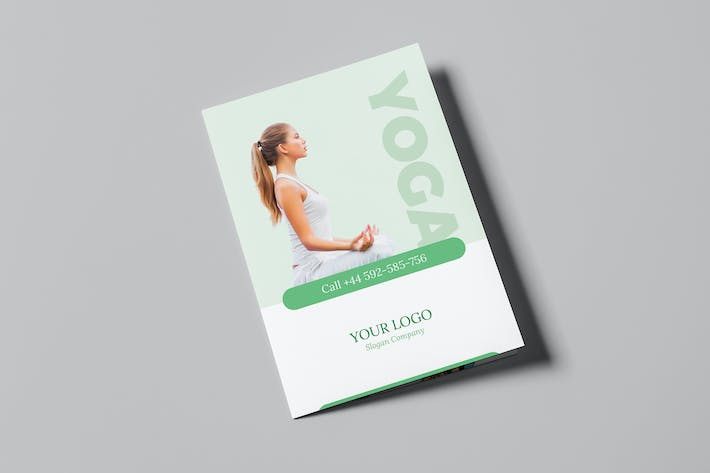 Thumbnail for Brochure – Yoga Bi-Fold