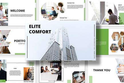 Elit Comfort - Business Powerpoint Presentation