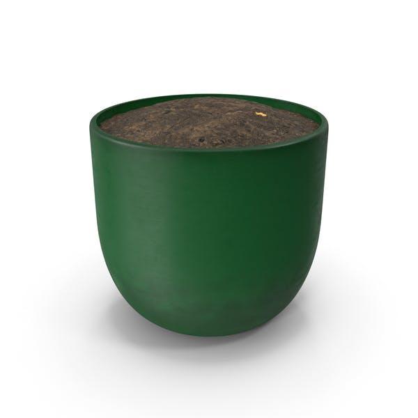 Grüner Topf