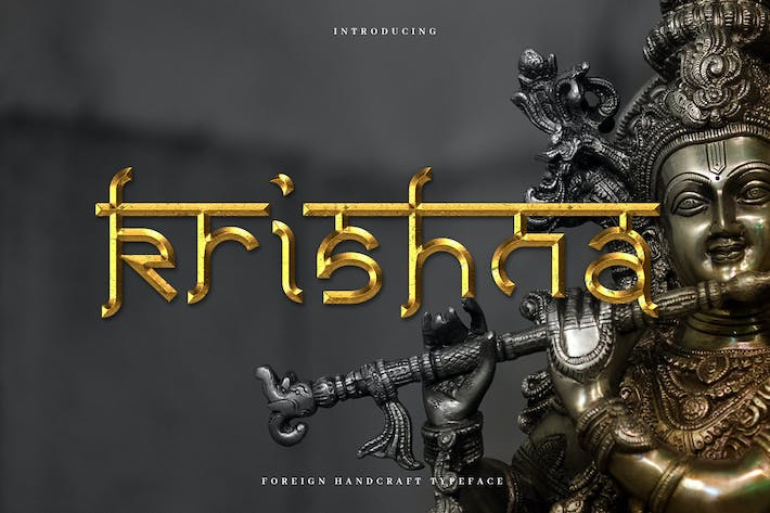 Thumbnail for Krishna - Authentic Indian Typeface
