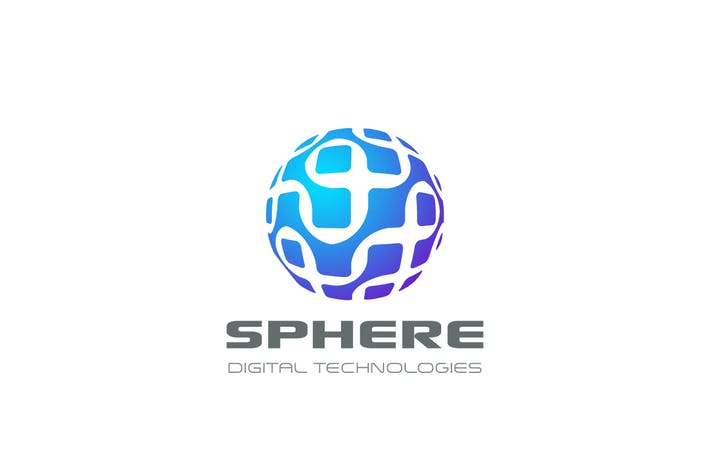 Thumbnail for Logo Sphere Circle Chip DNA Electronics Global