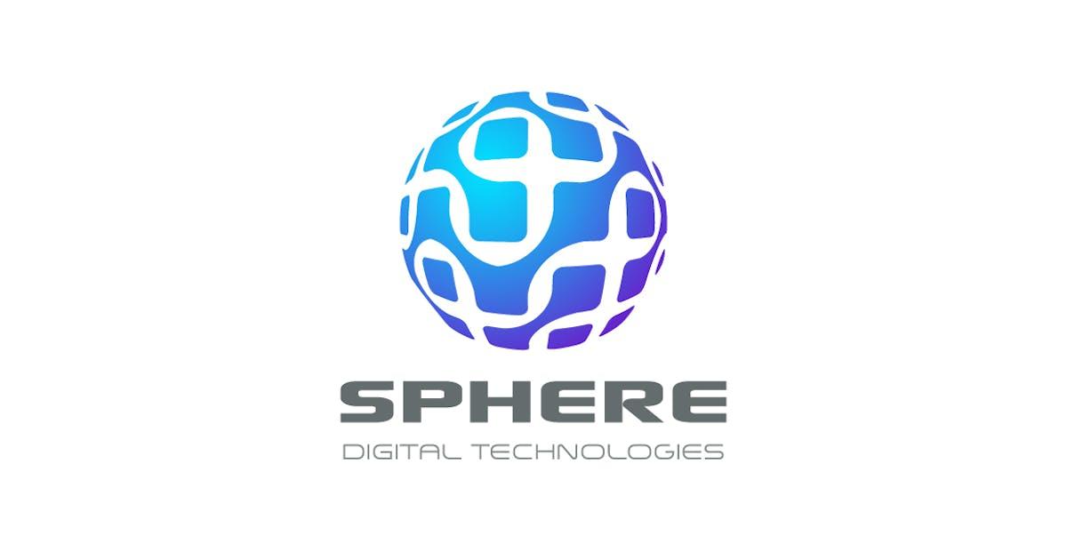Download Logo Sphere Circle Chip DNA Electronics Global by Sentavio
