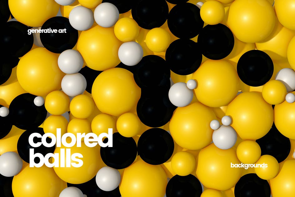 Download Colored Balls Backgrounds by themefire