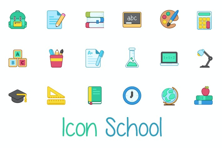 Cover Image For School Icon