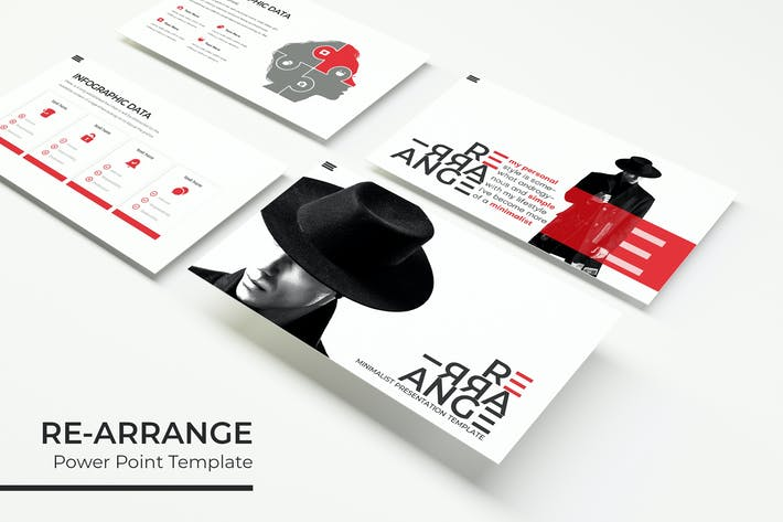 Thumbnail for RE-ARRANGE - Powerpoint Template