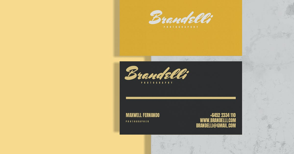 Download Awesome Business Card - Mockup by raseuki