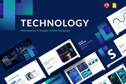 Technology Powerpoint & Google Slides Template