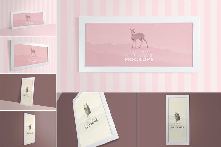 Thumbnail for Gorgeous Frame Mockups