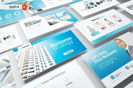 BUSINESS STRATEGY - Powerpoint V521