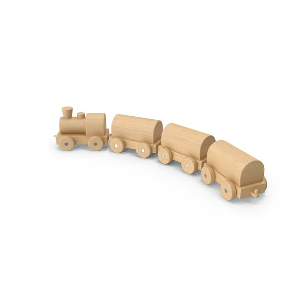Thumbnail for Wooden Toy Train