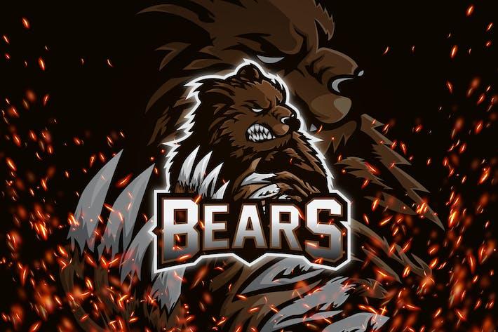 Thumbnail for Bears - Esport & Mascot Logo