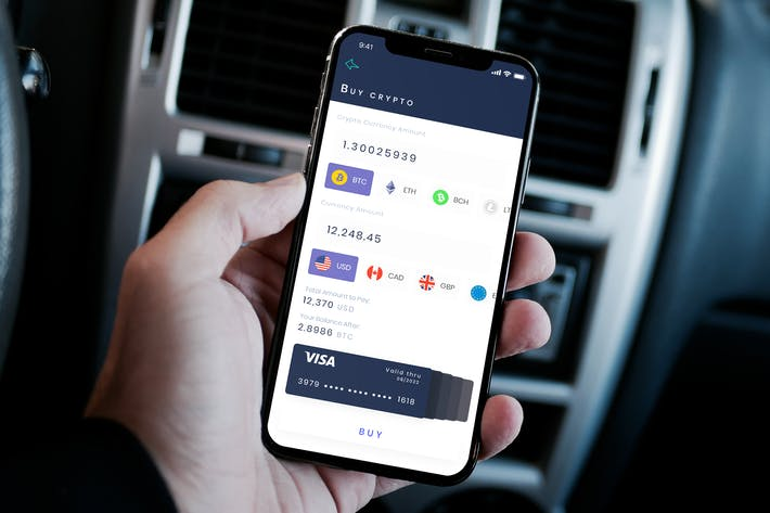 Thumbnail for Buy Crypto Mobile Ui - B