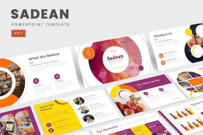 Sadean – Digital Marketing PowerPoint Template