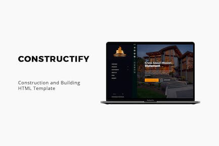 Constructify - Construction and Building Template