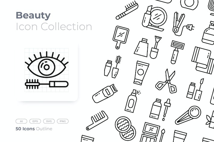 Beauty Outline Icon