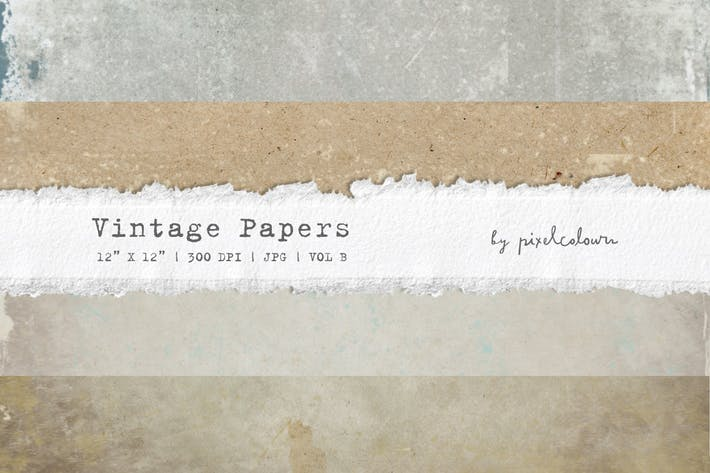Thumbnail for Vintage Papers or Backgrounds B