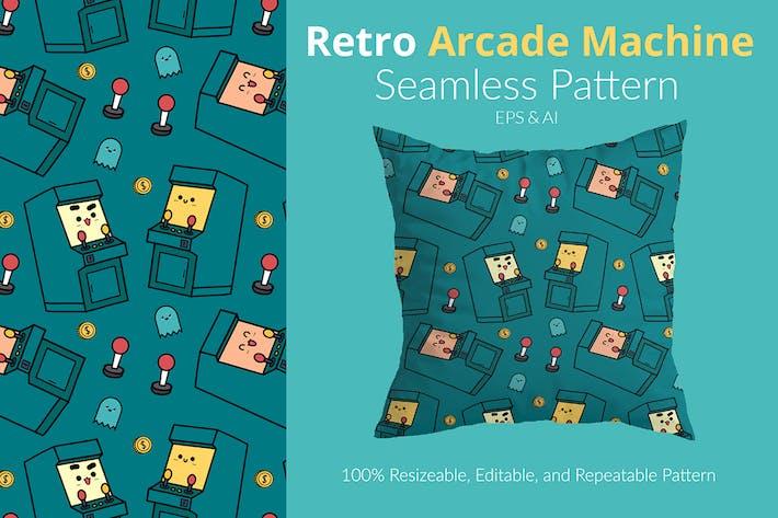 Retro Arcade Machine Pattern