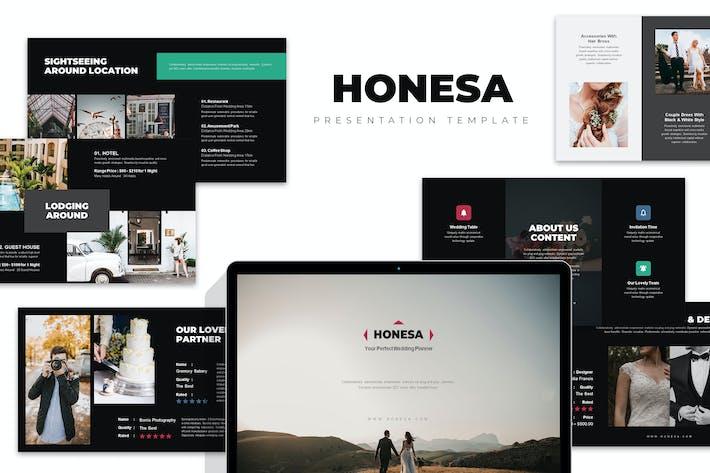 Thumbnail for Honesa : Wedding Planner & Organizer Powerpoint