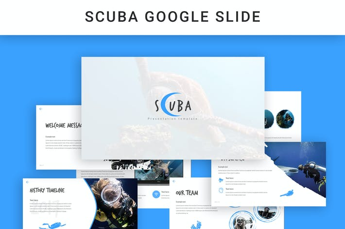 Thumbnail for Scuba Google Slide