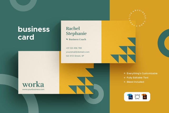 Thumbnail for Worka - Business Card - Stationery Kit