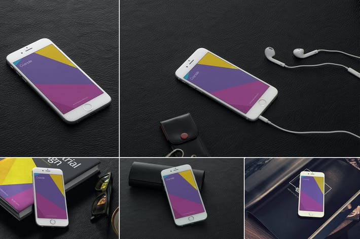 Thumbnail for iPhone 6 Mockup Templates