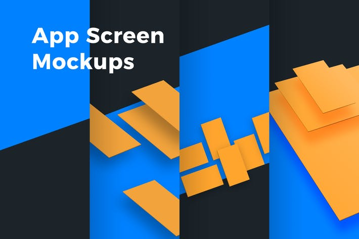 Thumbnail for App Screen Mockups