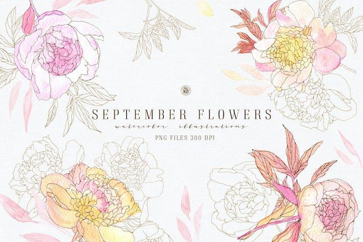 Thumbnail for September Flowers vol. 2