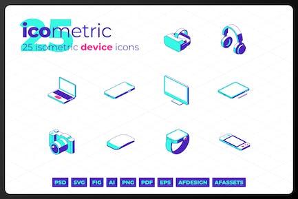 Isometrische Gerätesymbole - Iometrisch