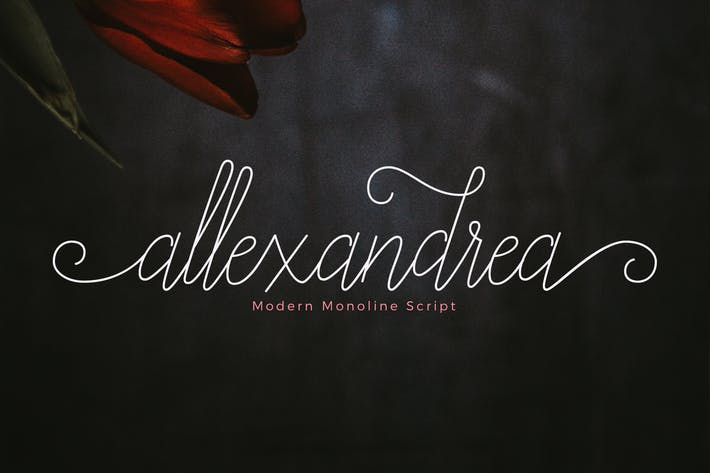 Thumbnail for Allexandrea Script