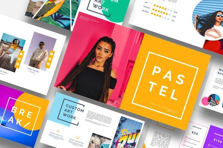 Thumbnail for Pastel - Pop Art & Graffiti Powerpoint Template