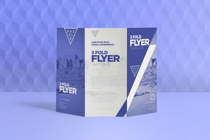 Thumbnail for 3 Fold Flyer Design Template