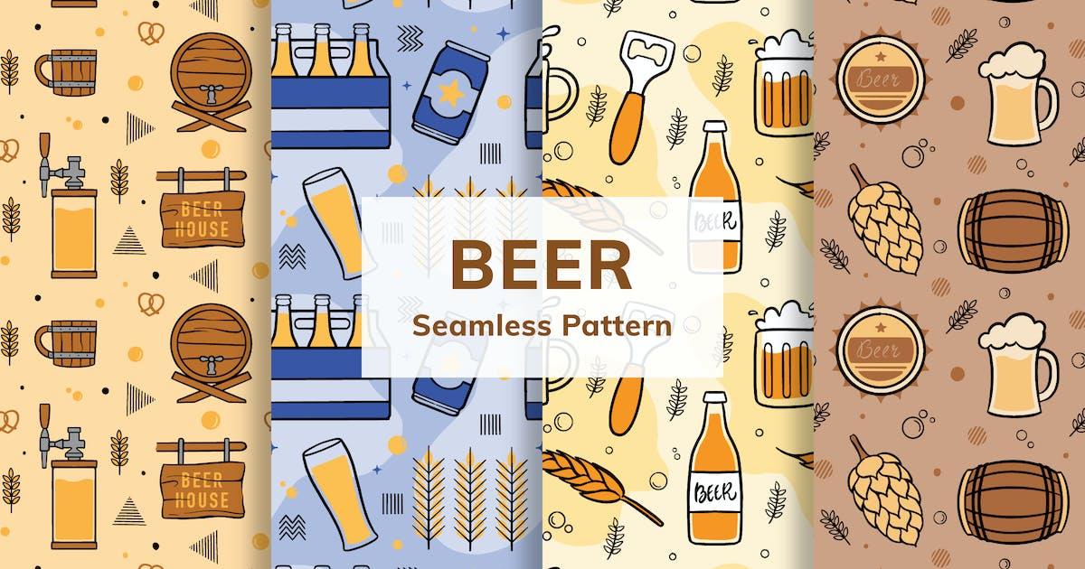Download Beer Seamless Pattern by deemakdaksinas