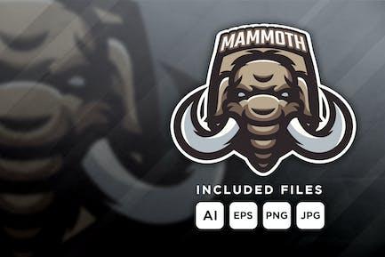 Mammoth - mascot logo for a team
