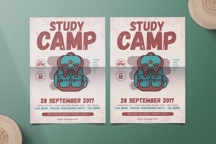 Thumbnail for School Camp Flyer