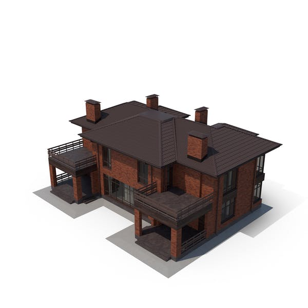 Thumbnail for Rote Backstein-Villa