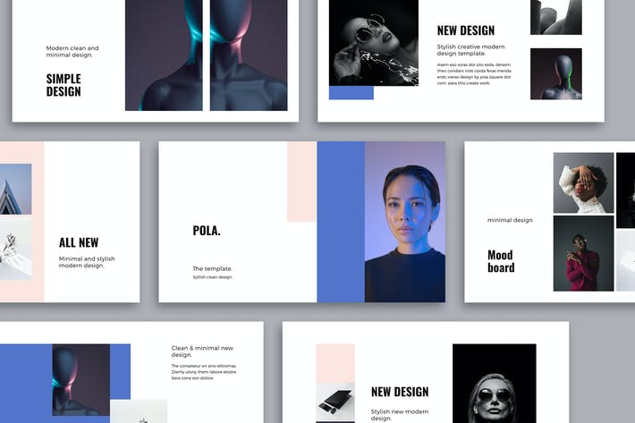 Thumbnail for POLA - Google Slides Design Template