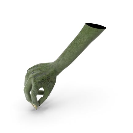 Creature Hand Pouring Pinch Pose