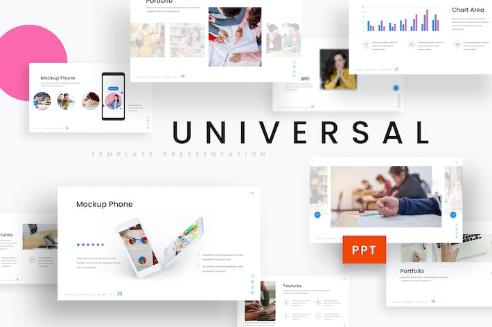 Thumbnail for Universal - Education Powerpoint Template