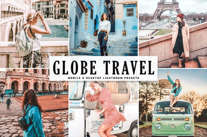 Thumbnail for Globe Travel Mobile & Desktop Lightroom Presets