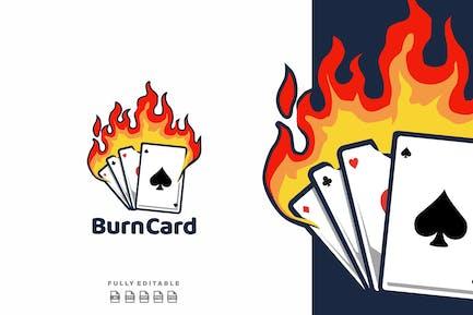 Burn Card Logo