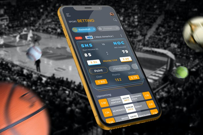 Thumbnail for Sport Betting Crypto 2 Mobile Ui - TH