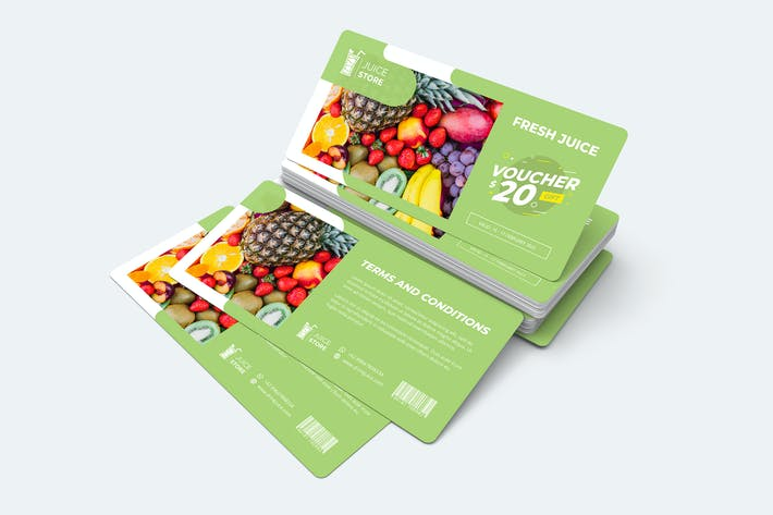 Thumbnail for Fruit Gift Voucher Card