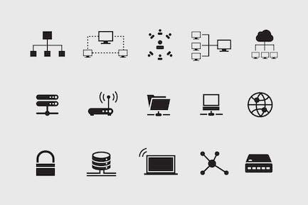 15 Network & Internet Icons
