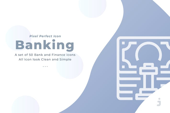 Thumbnail for 50 Banking and Financial icons