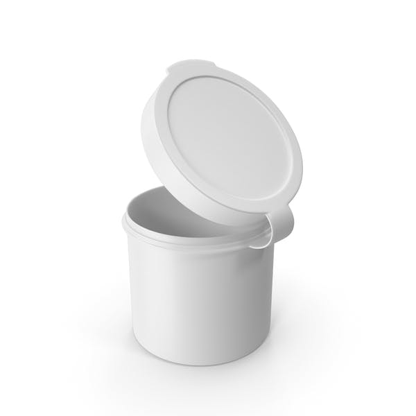 Таблетки Pod шарнир Топ 1 унция Открытый Белый